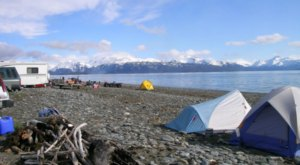 10 Spectacular Spots In Alaska Where You Can Camp Right On The Beach