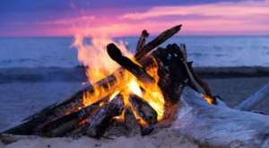 10 Spectacular Spots In New Jersey Where You Can Camp Right On The Beach