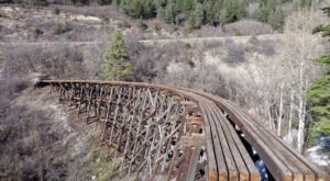 You've Never Experienced Anything Like This Epic Abandoned Railroad Hike In New Mexico