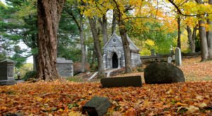 There's Something Incredibly Unique About This One Cemetery In Massachusetts