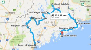 This Natural Wonders Road Trip Will Show You Maine Like You've Never Seen It Before