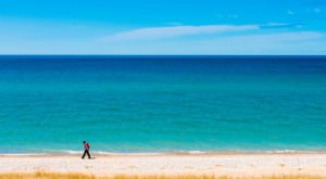 This One Destination Has The Absolute Bluest Water In Michigan