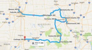 Take This Road Trip Through Missouri's Most Picturesque Small Towns For A Charming Experience