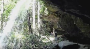 Walk Behind A Waterfall For A One-Of-A-Kind Experience In South Carolina