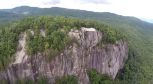 A Drone Flew Over The White Mountains in New Hampshire and Captured This Mesmerizing Footage