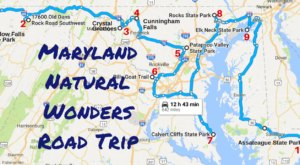 This Natural Wonders Road Trip Will Show You Maryland Like You've Never Seen It Before