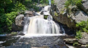This Magical Waterfall Campground In Connecticut Is Unforgettable