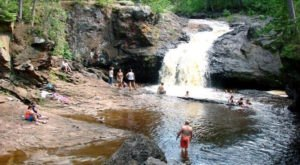 This Magical Waterfall Campground In Wisconsin Is Unforgettable