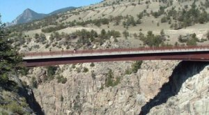 Sunlight Creek Bridge in Wyoming Is The Highest In The State