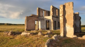 The Remnants Of This Abandoned Hospital In Wyoming Are Hauntingly Beautiful