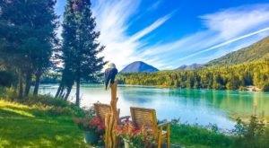 This Rustic Riverside Retreat In Alaska Is Hiding Right In Plain Sight