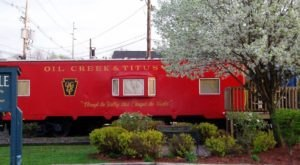 You'll Never Forget An Overnight In This Retired Caboose In Pennsylvania