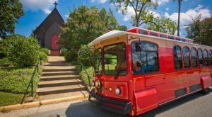 There's A Magical Trolley Ride In Georgia That Most People Don't Know About