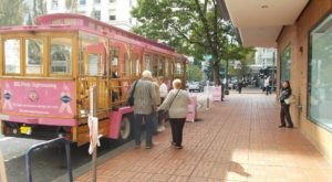 There's A Magical Trolley Ride In Portland That Most People Don't Know About