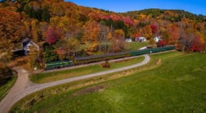 This Train In Vermont Is Actually A Restaurant And You Need To Visit