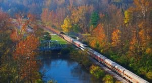 Take This Fall Foliage Train Ride Through Ohio For A One-Of-A-Kind Experience