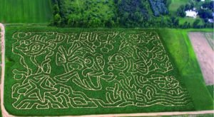 Get Lost In These 8 Awesome Corn Mazes In Michigan This Fall