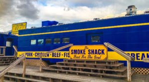 This Train In Alaska Is Actually A Restaurant And You Need To Visit