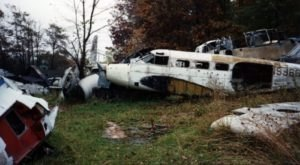 Step Inside This Eerie Graveyard In Ohio Where Planes Go To Die