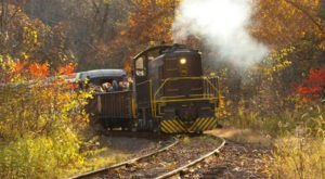 Take This Fall Foliage Train Ride Near Pittsburgh For A One-Of-A-Kind Experience