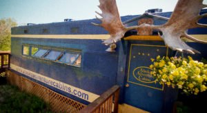 You'll Never Forget An Overnight Stay In This Retired Caboose In Alaska