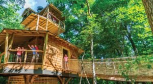 This Incredible Tree House In Indiana Is The Stuff Childhood Dreams Are Made Of