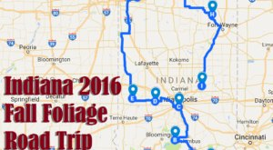 Take This Gorgeous Fall Foliage Road Trip To See Indiana Like Never Before
