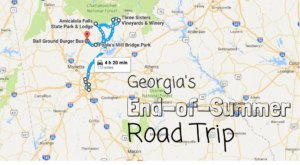 Your End Of Summer Georgia Road Trip Has Arrived