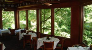 A Remote Restaurant In Ohio, White Oaks Is Surrounded By Tranquil Woodland Views