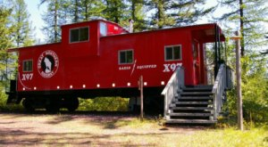You'll Never Forget An Overnight In These Retired Cabooses In Montana