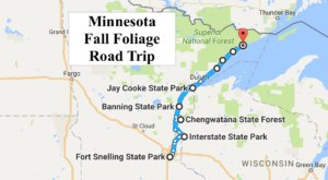 Take This Gorgeous Fall Foliage Road Trip To See Minnesota Like Never Before