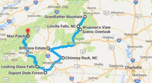 Take This Gorgeous Fall Foliage Road Trip To See North Carolina Like Never Before