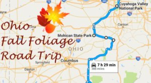 Take A Beautiful Fall Foliage Road Trip To See Ohio Autumn Colors