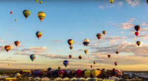 This New Mexico Footage Shows The World's Largest Balloon Fiesta Like You've Never Seen It Before