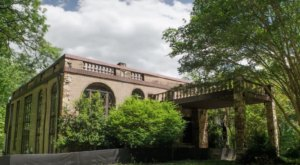 The Bones Of This Massive Playboy Mansion Have Been Left To Decay In Maryland