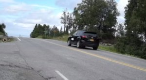 The Strange Phenomenon Of Gravity Hill In Alaska Must Be Experienced To Be Believed