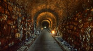 This Haunted Tunnel In Georgia Is Not For The Faint Of Heart