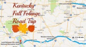 Take This Gorgeous Fall Foliage Road Trip To See Kentucky Like Never Before