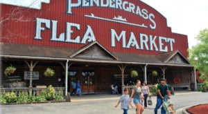 Everyone In Georgia Should Visit This Epic Flea Market At Least Once