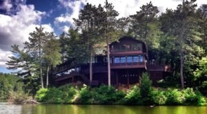 A Beautiful Restaurant Inside Wisconsin's Mirror Lake State Park, Ishnala Supper Club Serves Scrumptious Steaks