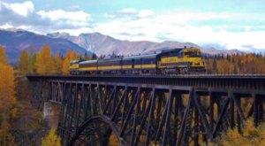 Take This Fall Foliage Train Ride Through Alaska For A One-Of-A-Kind Experience