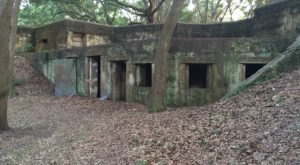 Explore Haunted Civil War-Era Ruins At Fort Fremont In South Carolina