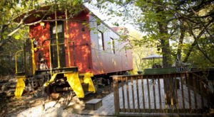 We Dare You To Stay The Night In This Arkansas Train And Not Absolutely Love It