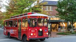 There's A Haunted Trolley Ride In North Carolina That Most People Don't Know About