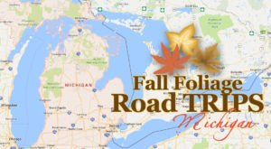 Take This Gorgeous Fall Foliage Road Trip To See Michigan Like Never Before