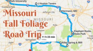 Take This Gorgeous Fall Foliage Road Trip To See Missouri Like Never Before