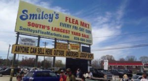 Everyone In North Carolina Should Visit This Epic Flea Market At Least Once