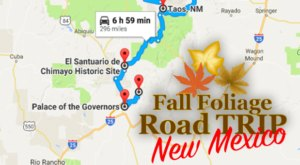 Take This Gorgeous Fall Foliage Road Trip To See The True Beauty Of New Mexico