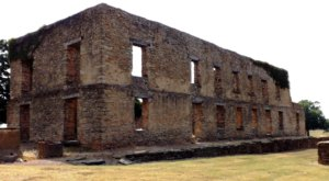 We Dare You To Visit The Ruins Of This Civil War Haunting Ground In Oklahoma