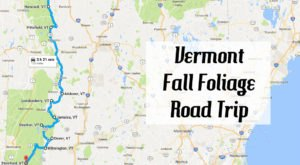Take This Gorgeous Fall Foliage Road Trip To See Vermont Like Never Before